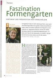 SORTIMENT UND PRÄSENTATION VON ... - greenworks