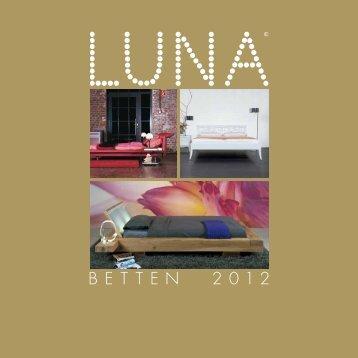 LUNA Betten 2012