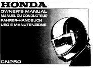 FAHRER-HANDBUCH _ uso E MANUTENZIDNE - Honda
