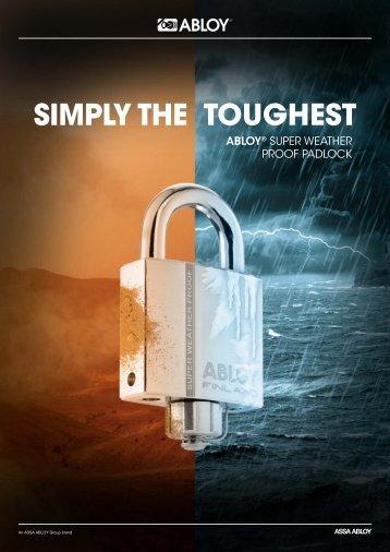 Abloy SWP padlocks