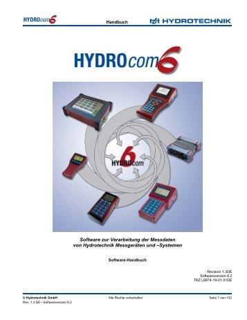 Software zur Verarbeitung der Messdaten von Hydrotechnik ...