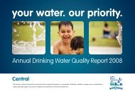 Quality Report 2008 - Central - Toho Water Authority