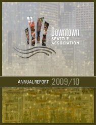 2009/10 DSA Annual Report - Downtown Seattle Association