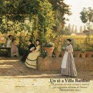 Un tè a Villa Bardini - Grandi Giardini Italiani