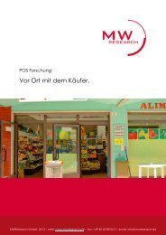 POS Forschung - MWResearch