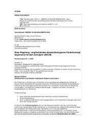 Neue Regelung: verpflichtendes standortbezogenes Förderkonzept ...