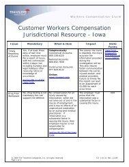 Customer WC Jurisdictional Resource (Rev.11-09) - Travelers ...