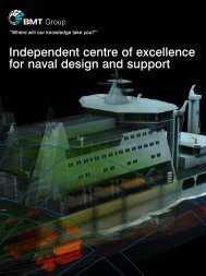 BMT Naval Design Brochure - BMT Defence Services
