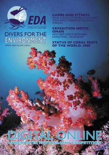 EDA March 2009 Issue.indd - Emirates Diving Association