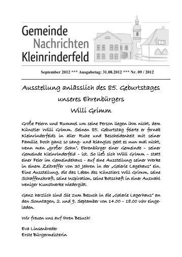 09 - September 2012 - Gemeinde Kleinrinderfeld