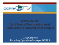 Overview of Yard Waste Composting And Food ... - CNY RPDB Home