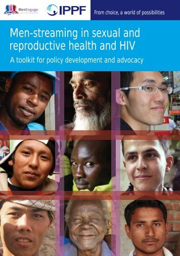 Men-streaming in sexual and reproductive health and HIV