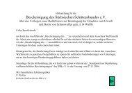 Bescheinigung des Sächsischen Schützenbundes e.V.