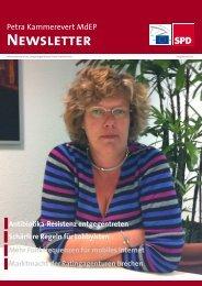 Infobrief Ausgabe 06 - 2011 - Petra Kammerevert