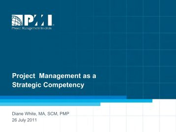 Project Management as a Strategic Competency - Knowledge ...
