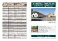 Juni 2013 - Bevaringsforeningen for Præstø og omegn