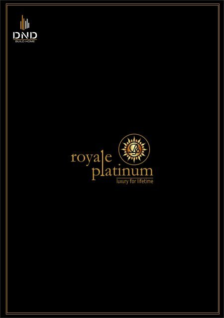 royale platinum brochure for pdf - Real Estate India