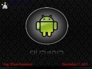 Ing. Elton Domnori December 7, 2011 - Agentgroup
