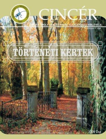 Cincér - Duna-Ipoly Nemzeti Park