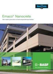 Emaco Nanocrete brochure - Basf