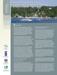 Public-Private Partnership in Sustainable Development ... - Pemsea