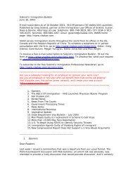 Siskind's Immigration Bulletin June 16, 2003 E ... - Siskind, Susser