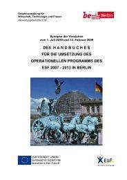 des handbuches für die umsetzung des operationellen ... - Berlin.de