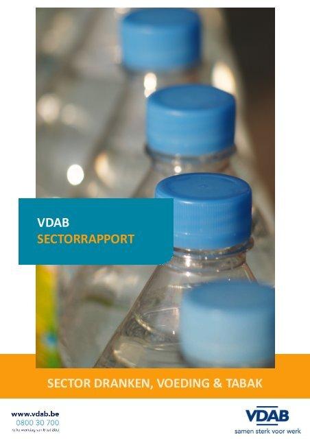 Dranken, voeding en tabak - VDAB