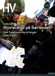 Utgave 4 - Heimevernet - Forsvaret