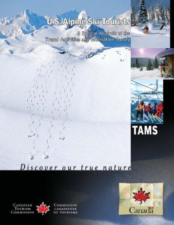 3. US Alpine Ski Tourists - Canadian Tourism Commission - Canada