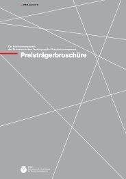 Preisträgerbroschüre - SVSM - Schweizerische Vereinigung für ...