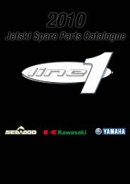Jetski Spare Parts Catalogue - Line One Distributors