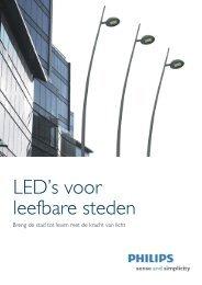 Brochure LED's voor leefbare steden - Philips
