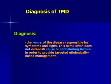 General Information-TMD