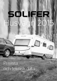Solifer Husvagn 2015