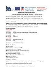 17.-18.10 - Svaz zakládání a údržby zeleně