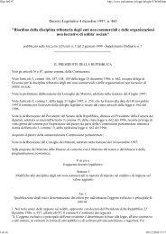 Decreto Legislativo 4 dicembre 1997, n. 460 ... - CSV Marche
