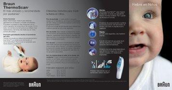 Braun ThermoScan ® - KAZ Europe