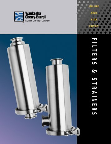 FILTERS & STRAINERS - Holland Applied Technologies