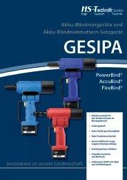 Download detailliertes Datenblatt (PDF) - HS-Technik