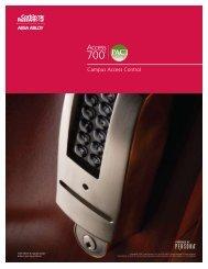 CORBIN RUSSWIN Access 700 PAC1 Catalog - PERSONA Campus