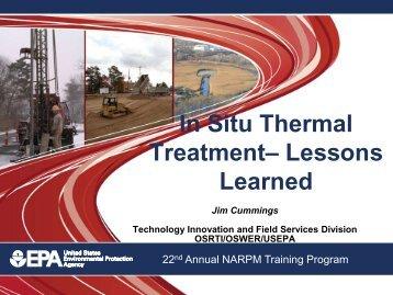 In Situ Thermal Treatment - (NARPM) Training Program