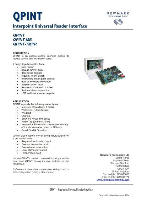 QPINT Manual - Grostech com