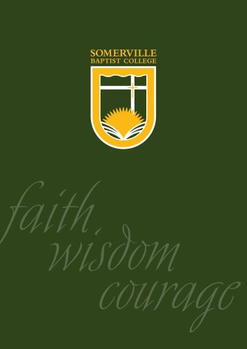 Untitled - Somerville Baptist College