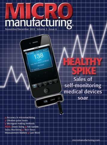 Click here to view as PDF - MICROmanufacturing