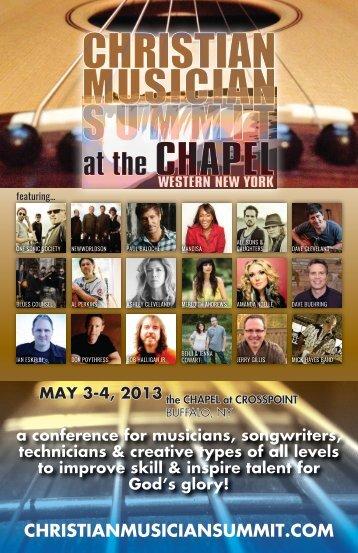 SESSION 3 - Christian Musician Summit