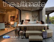 Marquis Hot Spas Brochure
