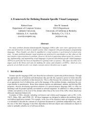 A Framework for Defining Domain-Specific Visual Languages - UAB ...