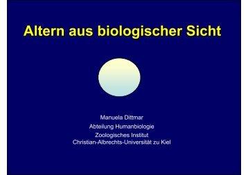 Altern aus biologischer Sicht - lebensstilaenderung.de
