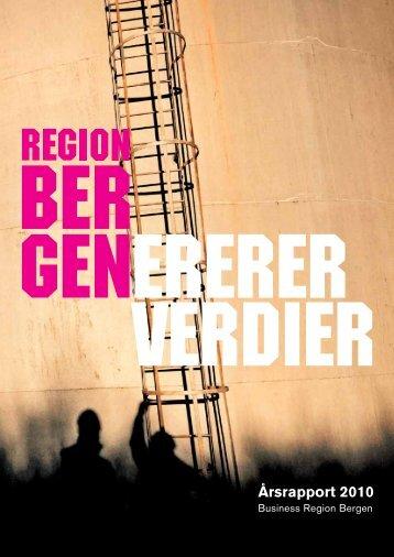 Her laster du ned Årsrapport 2010. - Business Region Bergen